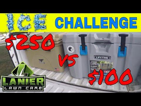 Orca Cooler vs Lifetime Cooler, Ice Retention Challenge