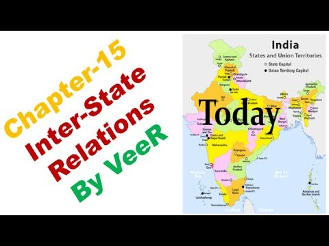 Water Disputes | Inter-State Councils | (Laxmikanth, Chapter-15  Inter-State Relations) By VeeR