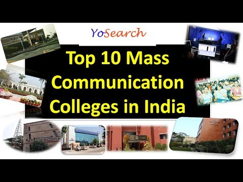 Top 10 Mass Communication Colleges in India | Top Journalism Colleges