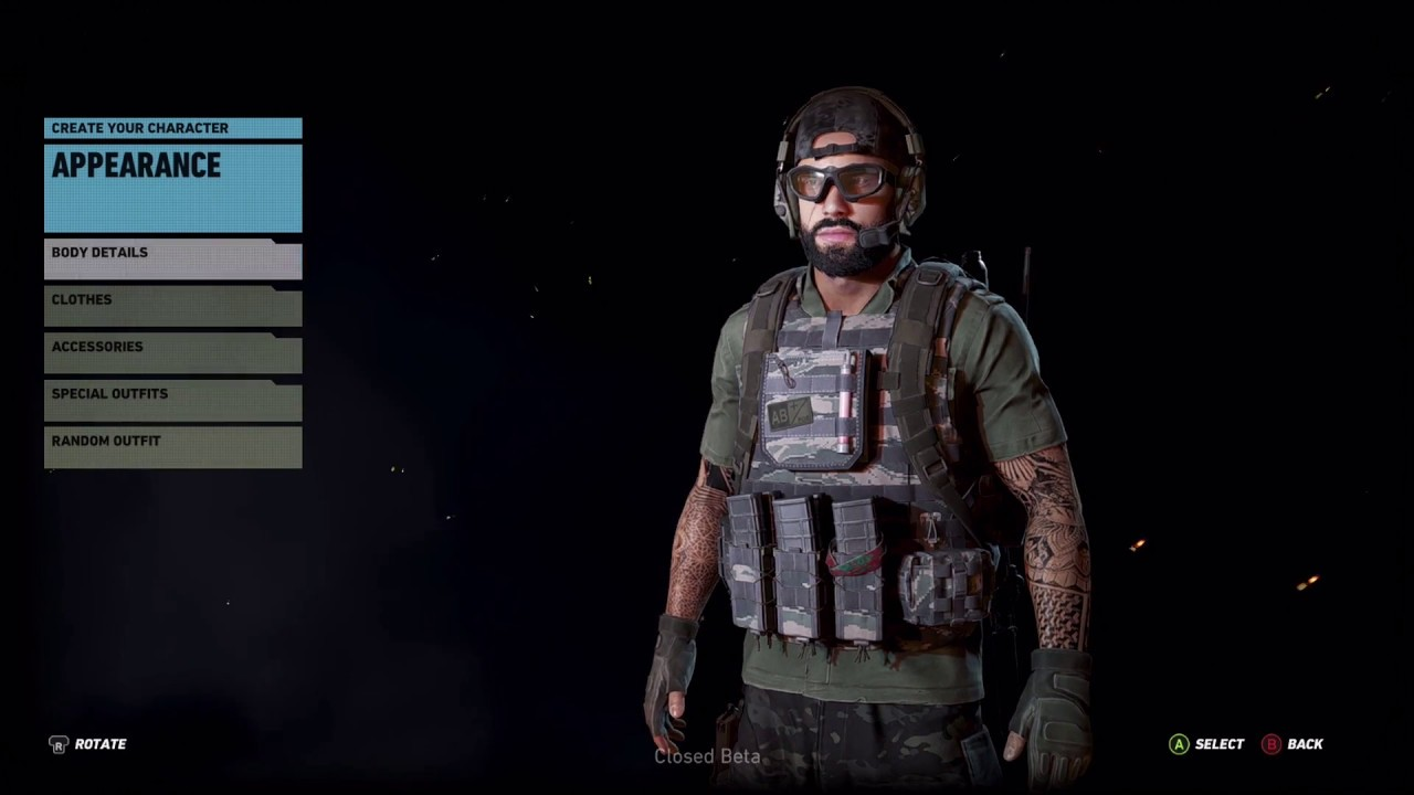 Design Your Character And Play : Lets play ghost recon wildlands create your character