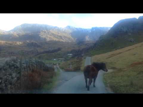 Driving to Idwal Cottage - Snowdonia Wales