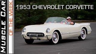 1953 Corvette Muscle Car Of The Week Video Episode 241 V8TV