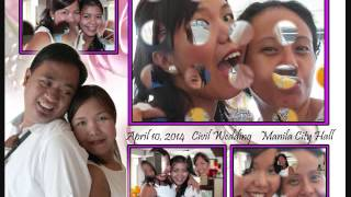 Oca and Mel's Civil Wedding Rites 2014