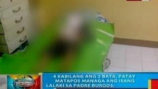 BP: 4, patay nang managa ang isang lalaki sa Padre Burgos, Southern Leyte