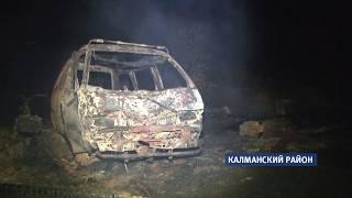 Сильный ветер стал причиной многочисленных пожаров в Алтайском крае