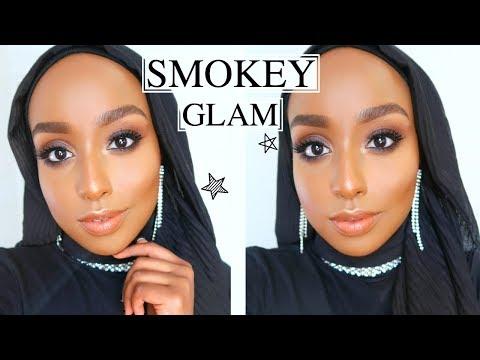 RED CARPET READY MAKEUP  | The PERFECT Smokey Eye + Nude Lip | Aysha Abdul - YouTube