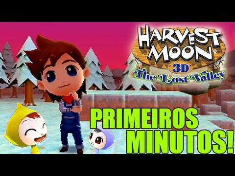 Save Harvest Moon: The Lost Valley - O Início do Jogo / Vale de Gelo / Duendes!! [3DS] Screenshots