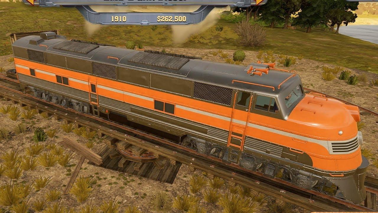 Railway Empire - All Trains Shown   List (PC HD) [1080p60FPS]