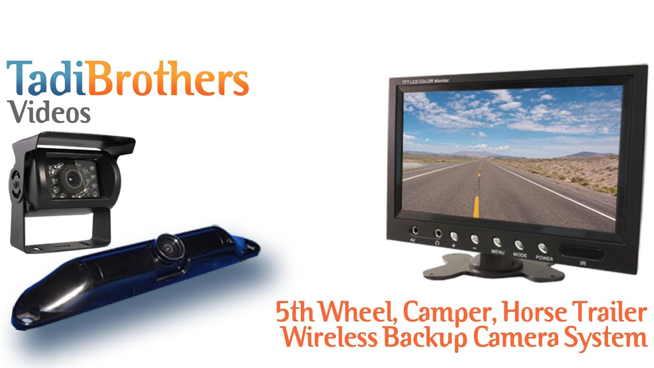 Wireless 5th Wheel Camper Backup Camera Systems From Www