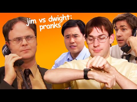 Jim's Pranks Against Dwight - The Office US | Comedy Bites