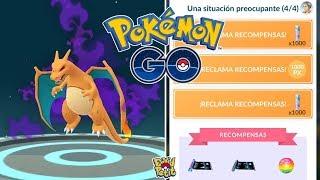 COMPLETANDO LA NUEVA INVESTIGACIÓN ESPECIAL DEL TEAM GO ROCKET! [Pokémon GO-davidpetit]