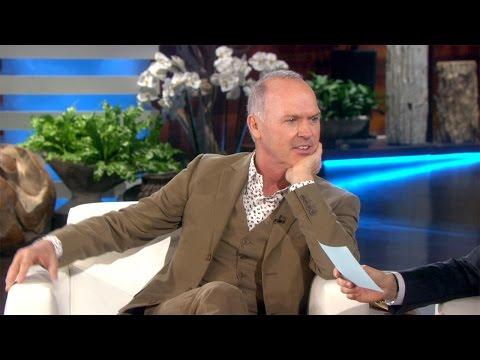 Michael Keaton on His Son