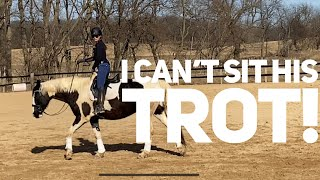 Improve riding your horses trot with these easy techniques