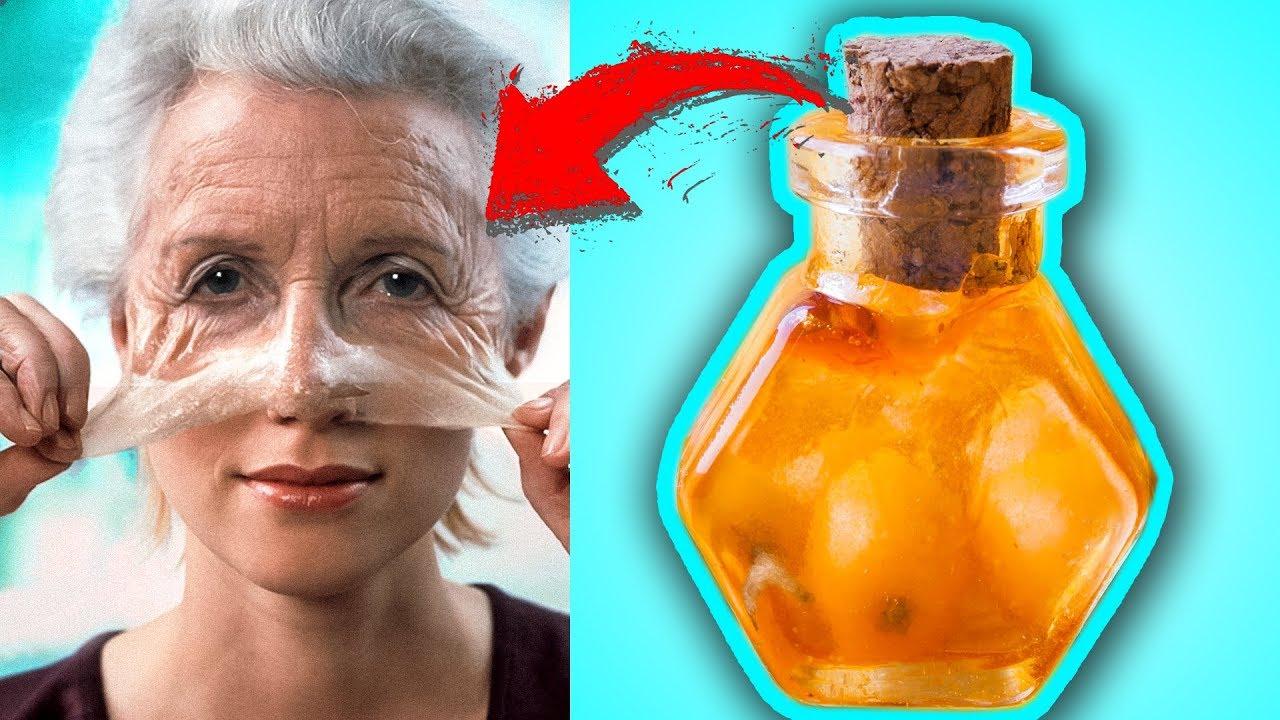 Супер простой рецепт от Морщин и сухой Стареющей кожи