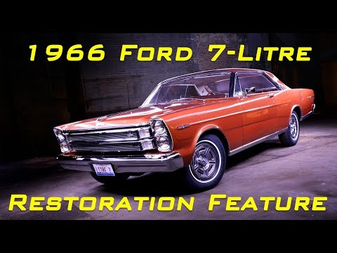 1966 Ford Galaxie 428 7-Litre Restoration Feature Video V8TV