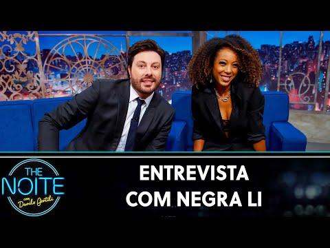 Entrevista com Negra Li   The Noite 090919
