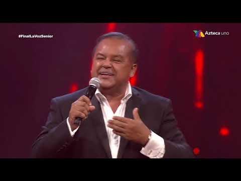 FINAL DE LA VOZ SENIOR 2019 / SALVADOR RIVERA / EQUIPO MONTANER