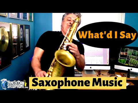 What'd I Say - Saxophone Music and Backing Track