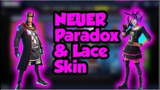 * new * PARADOX and LACE SKIN FORTNITE | 13.01.19