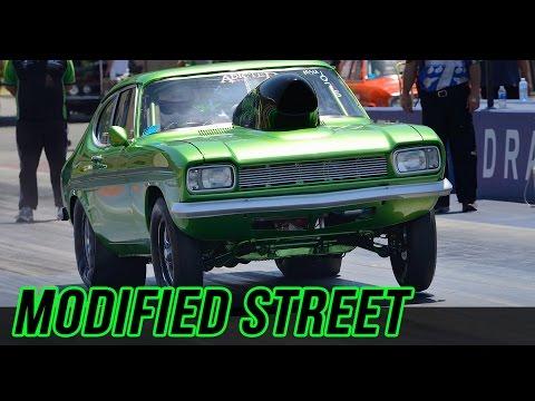 Ford Capri  Chevy Power = FAST!