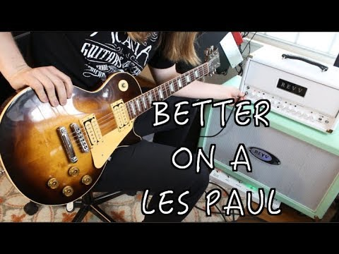Riffs That Should Have Been Played On A Les Paul!