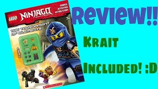 Ninjago Tournament of Elements Activity Book Review!