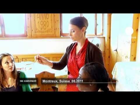 Switzerland's last finishing school - no comment