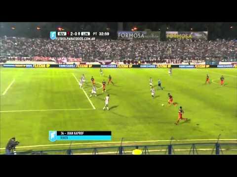 Gol de Kaprof. River 2 - Liniers (BB) 0. 32avos. Copa Argentina 2015. FPT.