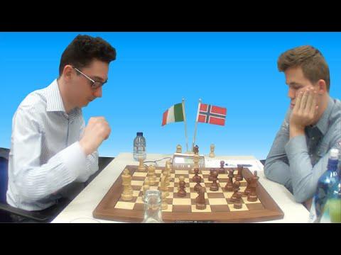 Fabiano Caruana vs Magnus Carlsen - 77th Tata Steel Chess Tournament 2015