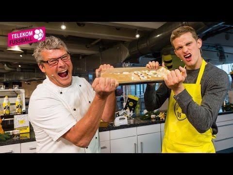 "Highlights: ""Nobby kocht!"" mit Sven Bender"