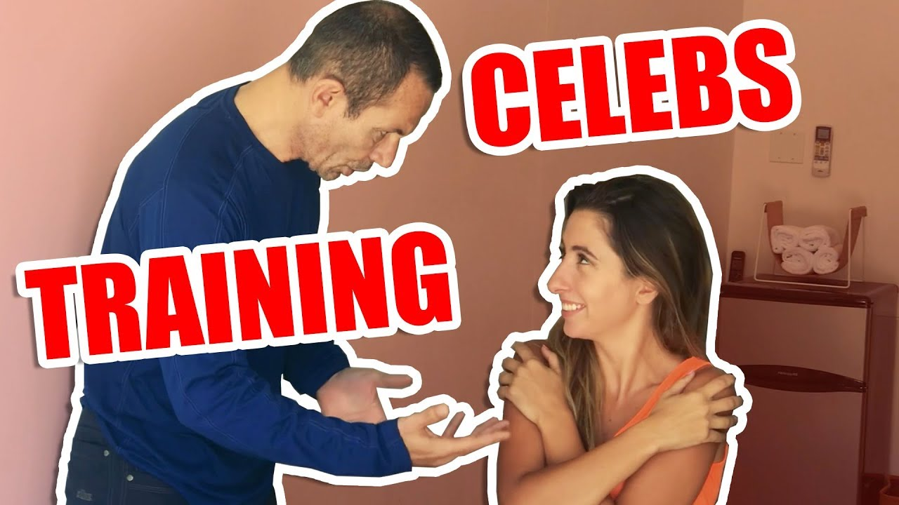 Working Out With A Celebrity Fitness Trainer | Celeb Trainer Teaches 3 Simple Exercises