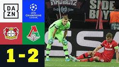 Hradecky-Patzer besiegelt Werkself-Fehlstart: Leverkusen - Moskau 1:2 | UEFA Champions League | DAZN