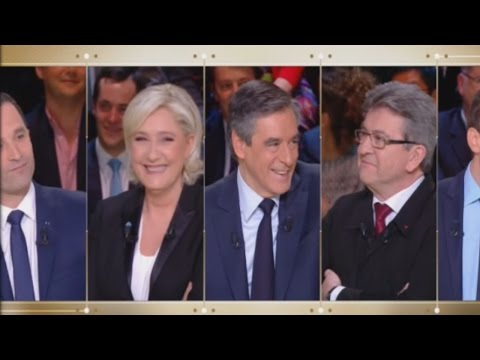 [Zap télé] Le Grand Débat : La blague insolite de Jean-Luc Mélenchon ! 21/03/2017