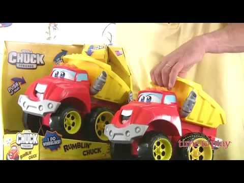 Tonka Chuck Friends Rumblin Chuck From Hasbro Youtube