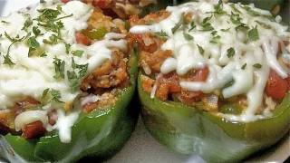 Stuffed Peppers- How To Make Stuffed Bell Peppers  (loaded With Yumminess!)