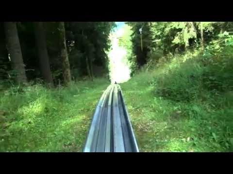 Summer Sledge Ride Strobl Austria 9 16 10.mp4
