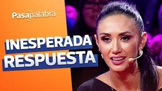 Pamela Díaz sacó carcajadas con respuesta en el bachillerato - Pasapalabra