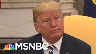 President Donald Trump: Judge Brett Kavanaugh Is 'Anxious To Testify' | Andrea Mitchell | MSNBC