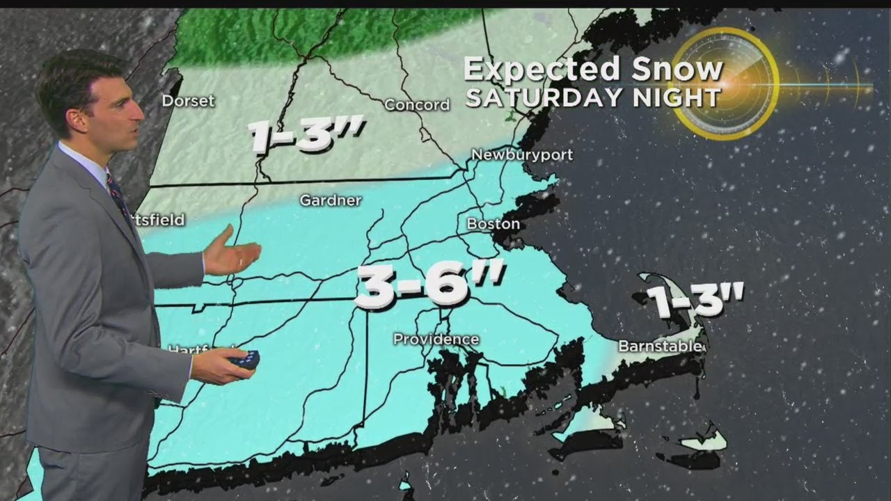 WBZ Evening Forecast For February 16, 2018