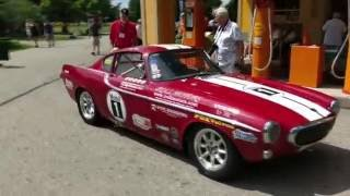 Volvo P1800 race car   Volvos at the Gilmore