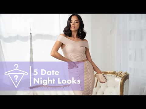 #StyledbyGUESS: 5 Date Night Looks<br><br>5 DATE N...