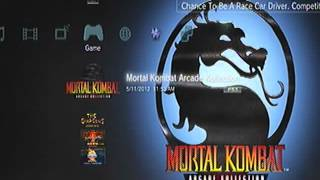 mortal kombat arcade collection title music