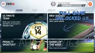 FIFA 14 All modes Unlocked (No root,No computer Needed) Android