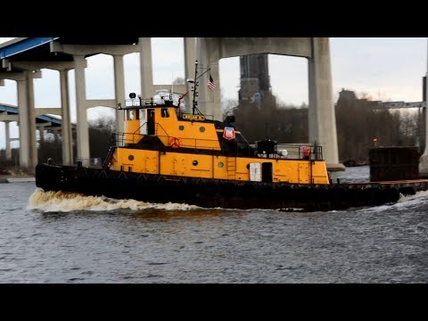 TUGS & BARGES at Work