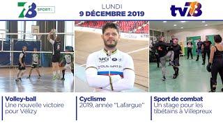 7/8 Sports. Emission du lundi 9 décembre 2019
