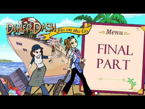 Diner Dash: Flo On The Go - Gameplay Final Part (Level 50)