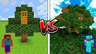 Minecraft NOOB vs. PRO: TREEHOUSE in Minecraft!