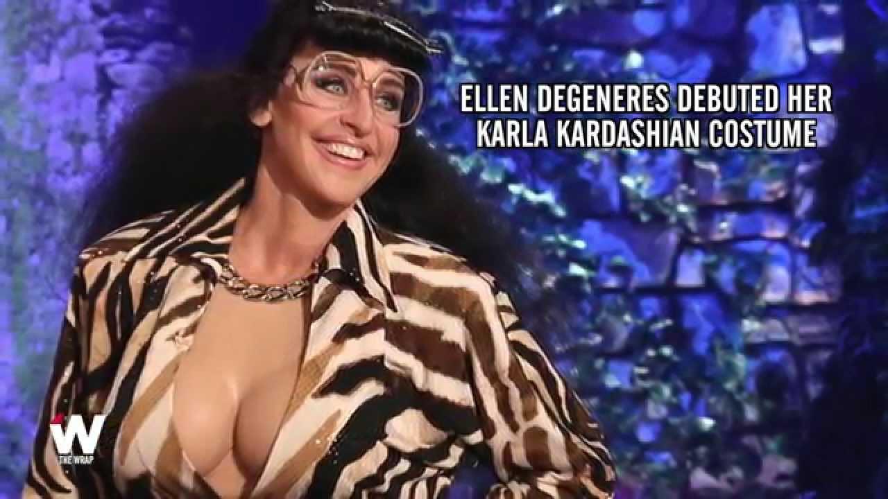 Ellen Kardashian Halloween