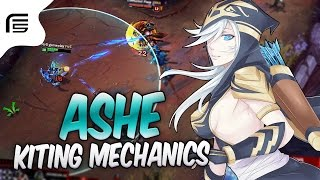 O KITING MECHANICS QUE VOCÊ RESPEITA - ASHE ADC GAMEPLAY - League of Legends - Fiv5 gameplay