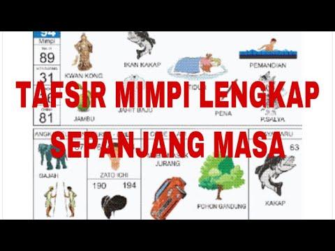 TAFSIR MIMPI TOGEL TERLENGKAP SEPANJANG MASA